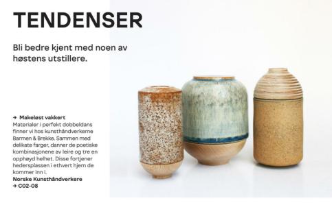 Frå messekatalog. Oslo Design Fair.