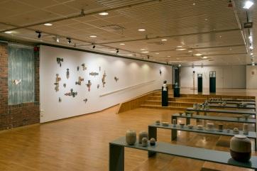 Frå utstilling MAKE. Stord Kunsthall. Foto Øyvind Hjelmen.